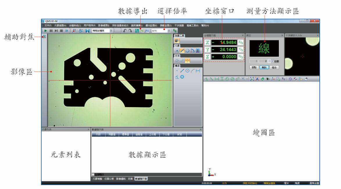 万濠影像仪软件